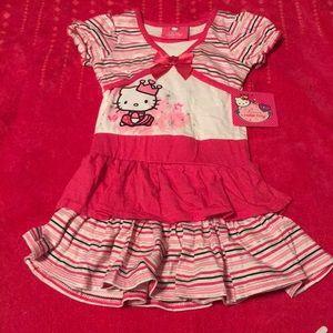 NWT Hello Kitty dress, size 2T